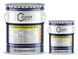 Clever Pu Primer 300 2 K Влагостойкая Грунтовка Пу 300 - фото 1