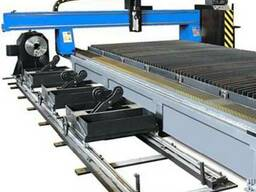 CNC Plasma, Oxy-Fuel, Water Jet, Pipe-Profile Cutting Machin
