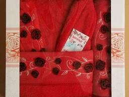 Махровые халаты из высококачественного хлопка