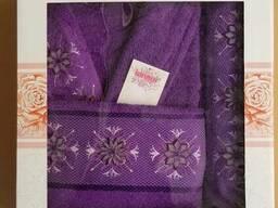 Махровые халаты из высококачественного хлопка - фото 3