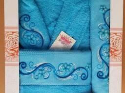 Махровые халаты из высококачественного хлопка - фото 5