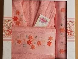 Махровые халаты из высококачественного хлопка - фото 6