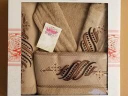 Махровые халаты из высококачественного хлопка - фото 8