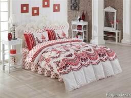 Одеяла стёганные в комплекте с пастельным бельём