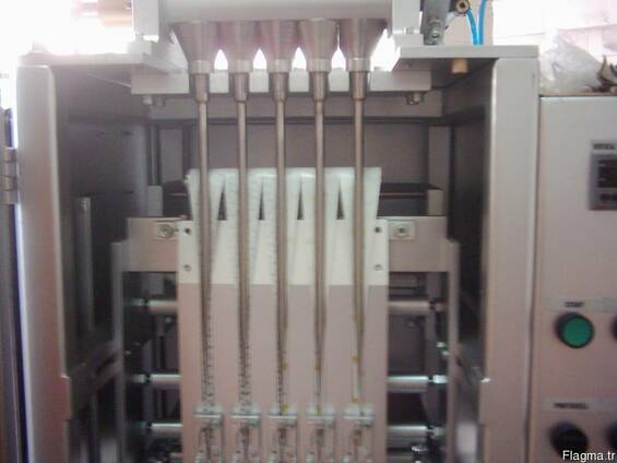 Упаковочное оборудование сахара-песка в стики и саше
