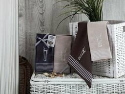Вафельные полотенца в наборе - фото 3