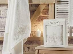 Вафельные полотенца в наборе - фото 8
