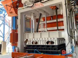 COB1236 вибропресс для производства бетонных блоков и брусчаток