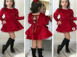 Детские бальные платья