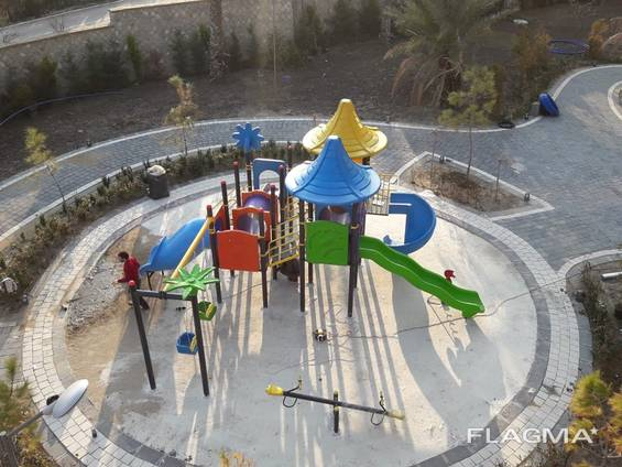 Детские игровые площадки на открытом воздухе