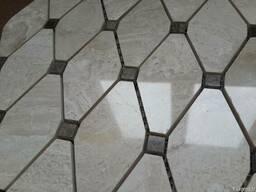 Diana Royal - Black Emperador мрамор, мозайки, нат. камень