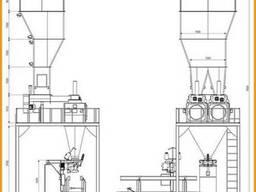 Двухпозиционная Весовыбойный Аппарат Упаковки Отрубей 1-х ст - фото 2