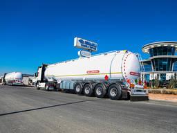 Fuel tanker semitrailer // Бензовоз полуприцеп алюминий