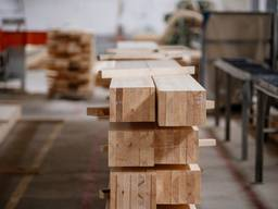 Glued profiled beam, glued laminated timber - photo 1