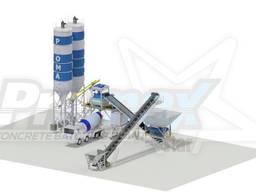 Компактный бетонный завод C100 TWN-PLUS (100m³/h)