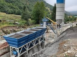 Компактный бетонный завод C60 SNG-L (60m³/h)