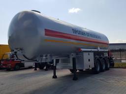 LPG Tanker 40 m3 // Газовоз 40 м3