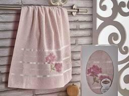 Махровые полотенца оптом из Турции (сток) - фото 5