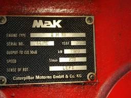 MAK 9M 25 Diesel Generator
