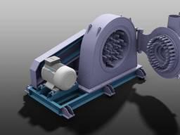 Мельница молотковая центробежная для тонкого помола. Производительность от 25 тон/час