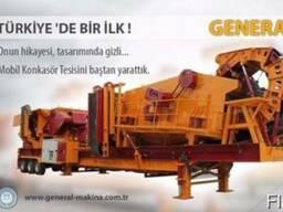 Мобильная Сортировочная Дробилка General 950-General Makina