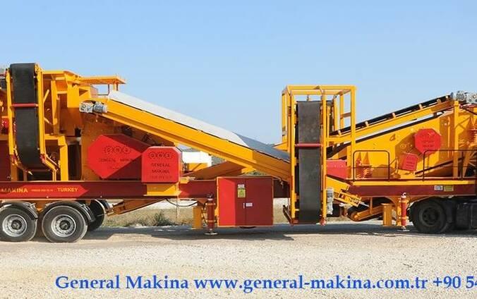 Мобильная сортировочно дробильная оборудования General 01.