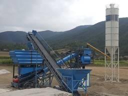 Мобильный бетонный завод M 100 m3 Konbantsan Турция
