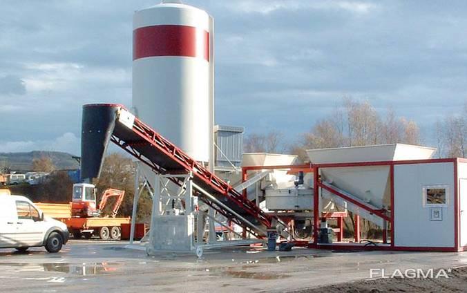 Мобильный Бетонный завод SUMAB K-30 (30 м3/ч) Швеция