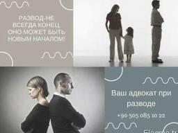 Наш адвокат всегда с Вами при разводе с гражданином Турции