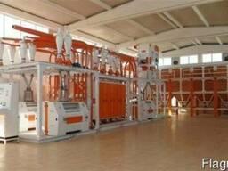 Оборудование по производству чечевицы