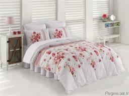 Одеяла стёганные в комплекте с пастельным бельём - фото 7