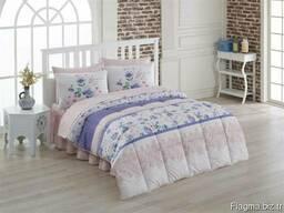 Одеяла стёганные в комплекте с пастельным бельём - фото 1
