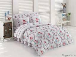 Одеяла стёганные в комплекте с пастельным бельём - фото 5