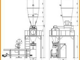 Однопозиционная Весовыбойный Аппарат Упаковки Отрубей 1-х ст - фото 2