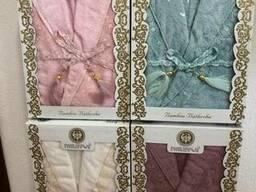Сток полотенца. халаты ткань в рулоннах оптом - фото 2
