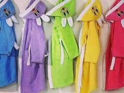 Сток полотенца. халаты ткань в рулоннах оптом - фото 4