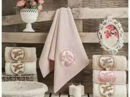 Сток полотенца. халаты ткань в рулоннах оптом - фото 5