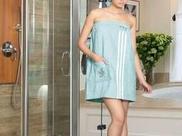 Сток полотенца. халаты ткань в рулоннах оптом - фото 7