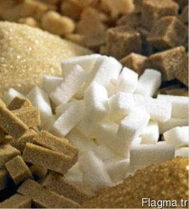 Линия производит кубики сахара-рафинада из сахара-песка