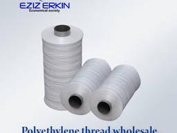 Polyethylene thread for the production of bags in bulk