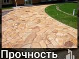 Природный камень, плитняк. - photo 3