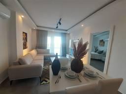Продаётся квартира 1 1 с видом на море Алания/Махмутлар
