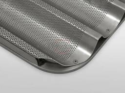 Противень алюминиевые перфорированные для багет - фото 1
