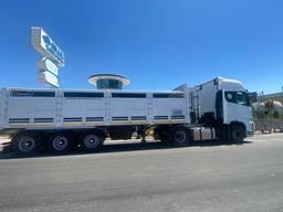 Самосвал полуприцеп // Dumper semitrailer Flatbed