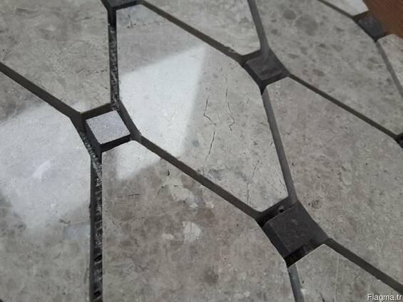Silver Emperador - Royal Gray мрамор, натуральнаый камень