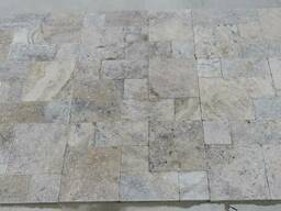 Silver Tumbled Travertine Mini Set