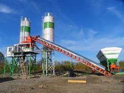 Стационарный бетонный завод (30 м3/час)