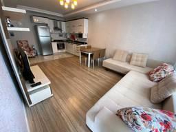 Светлая уютная 3х комнатная квартира в Коньяалты