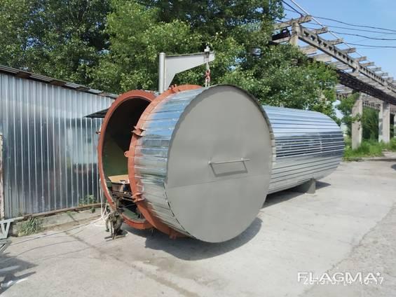 Термомодификация дерева, оборудование, камера термообработки