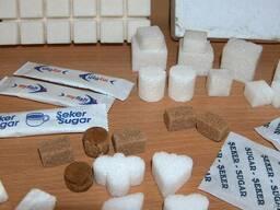 Оборудование для обёртки сахара в 2-х кубиков сахара (кон